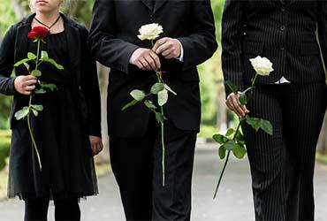 Sterbefall - Pietät Mayer hilft