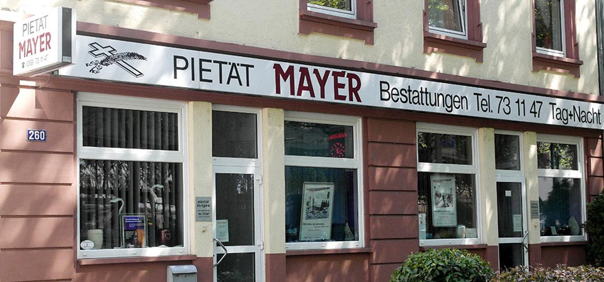 Pietät Mayer - Bestattungshaus